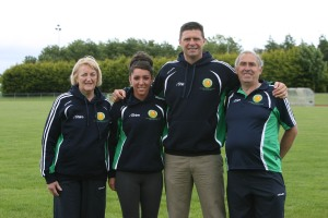 Cork representatives on the team for Durban!